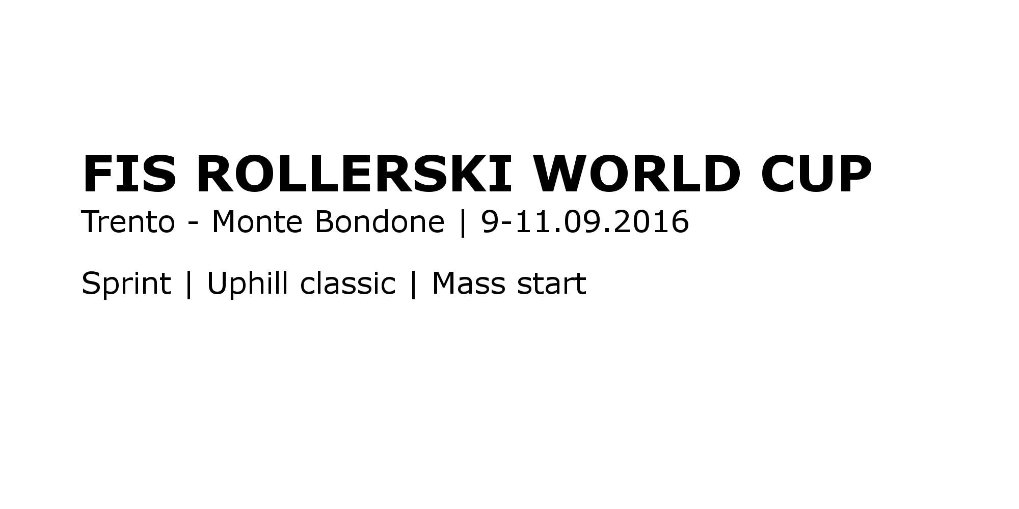 Skiroll-uphill classic Monte Bondone