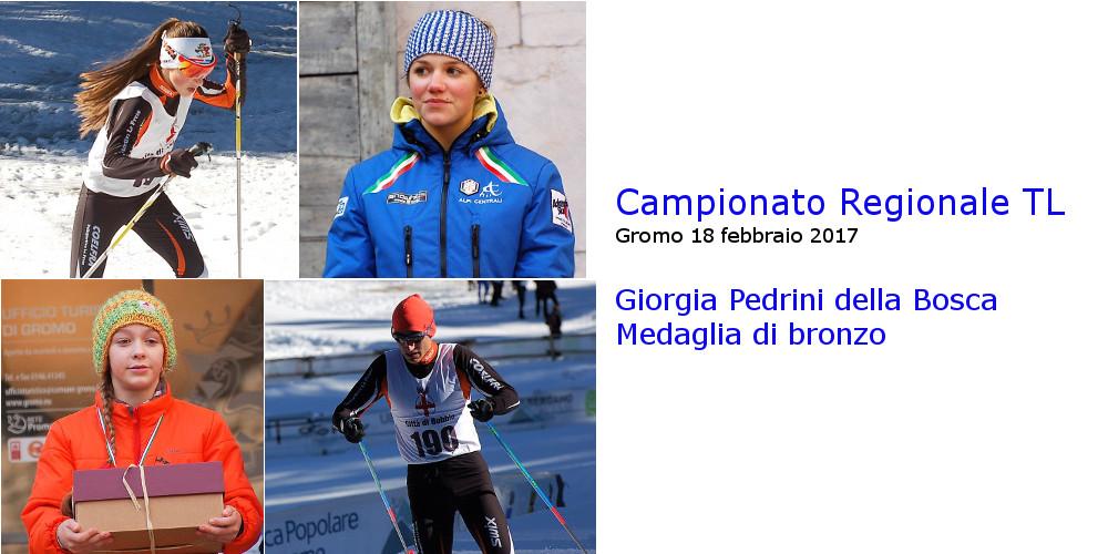 Campionato Regionale TL- Giorgia medaglia di bronzo