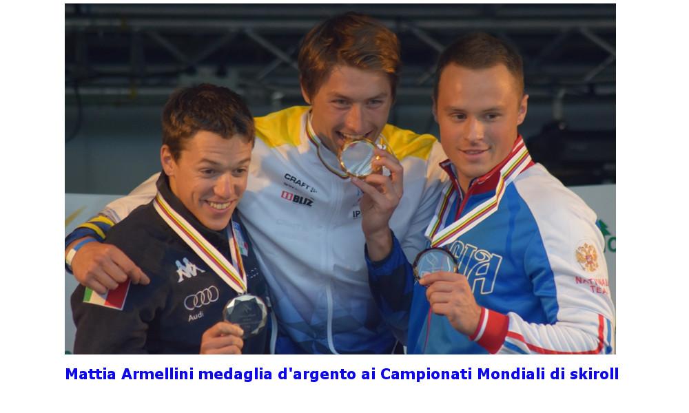 Mattia Armellini argento mondiale