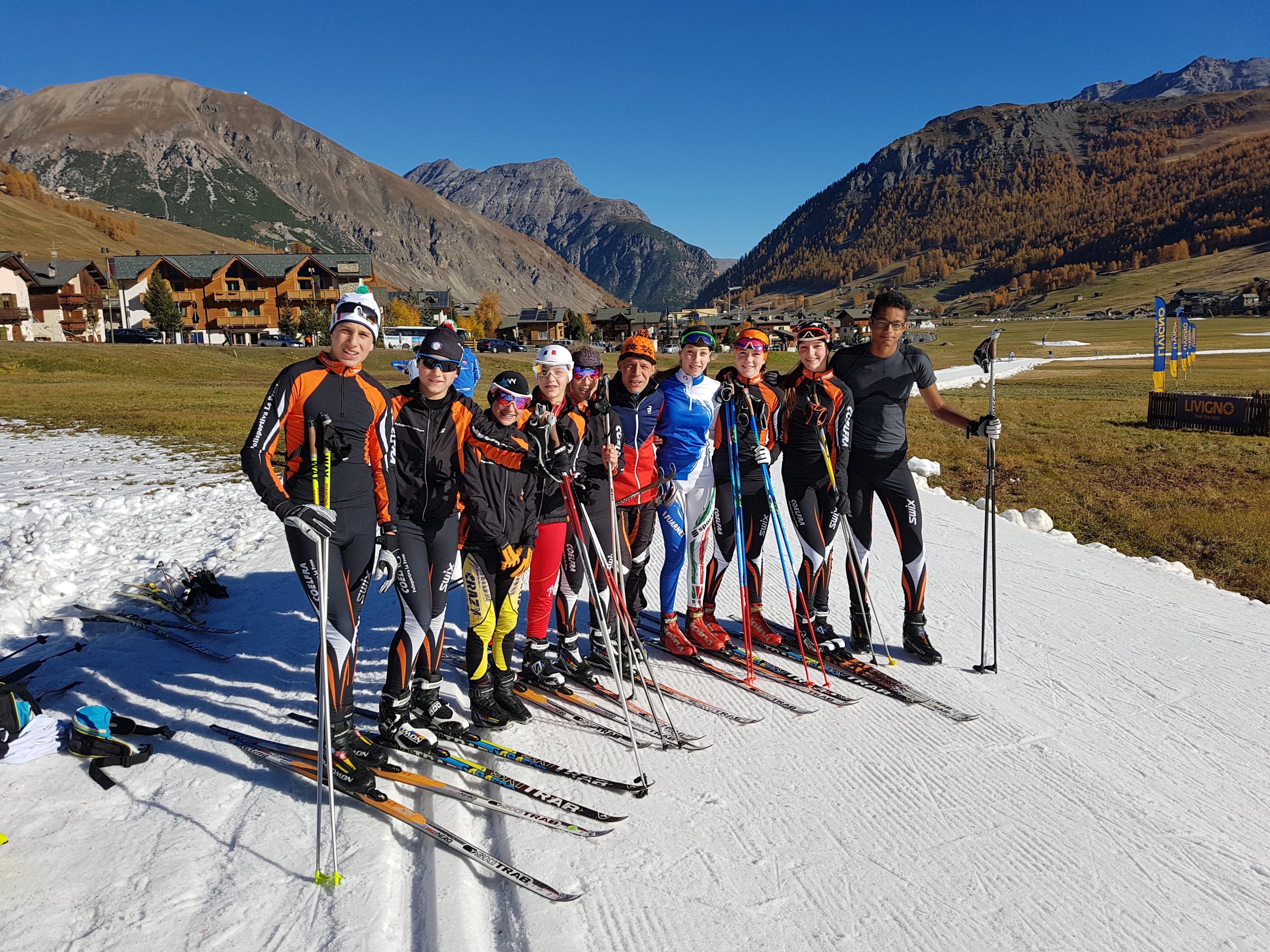Si inizia a sciare a Livigno