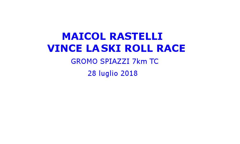 Skiroll race- Gromo
