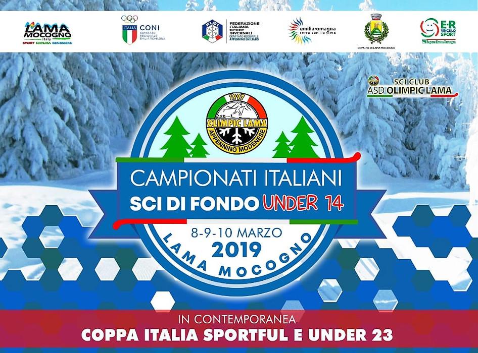Campionati Italiani sci di fondo U14