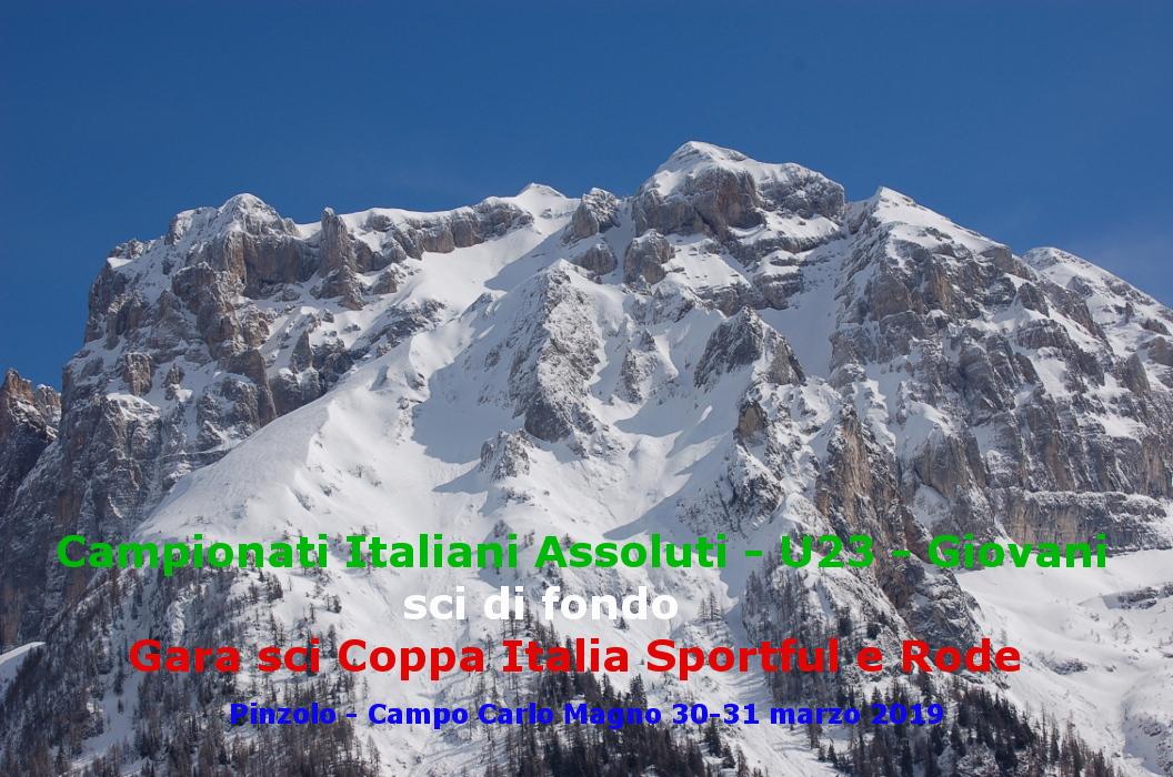 Campionati Italiani Assoluti – U23 – Giovani      Campo Carlo Magno