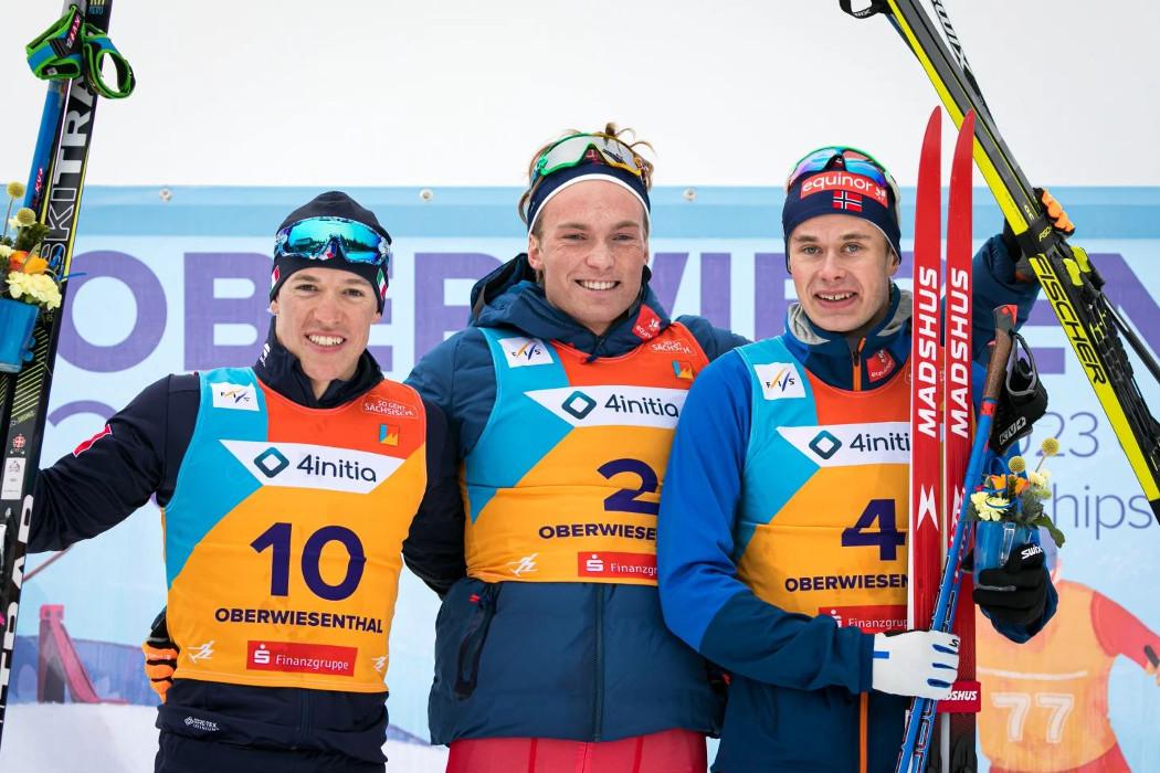 Campionati del Mondo di sci di fondo-Oberwiesenthal 2020-Armellini medaglia d'argento